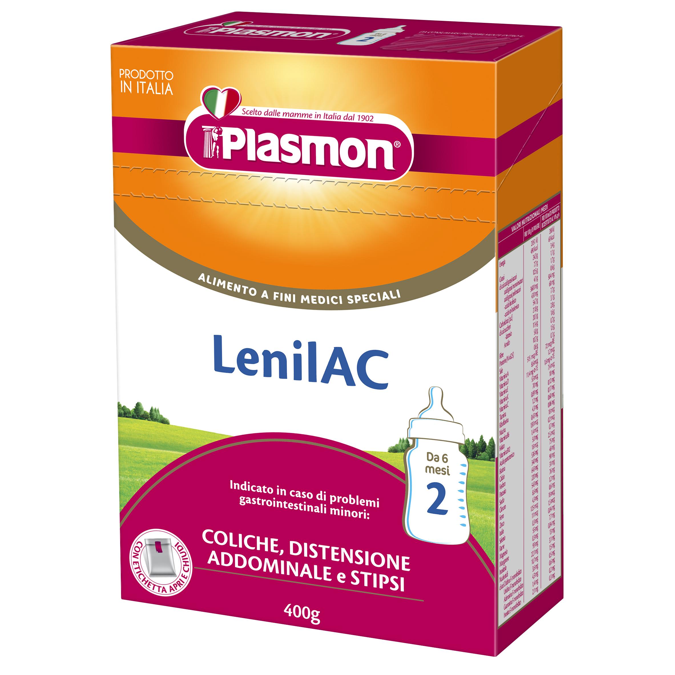 ДИЕТИЧНА ХРАНА ЗА СПЕЦИАЛНИ МЕДИЦИНСКИ ЦЕЛИ PLASMON® LenilAC 2