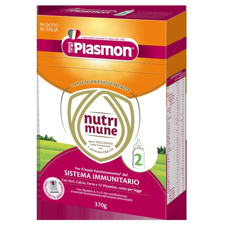 ПРЕХОДНО МЛЯКО PLASMON® Nutri-mune 2